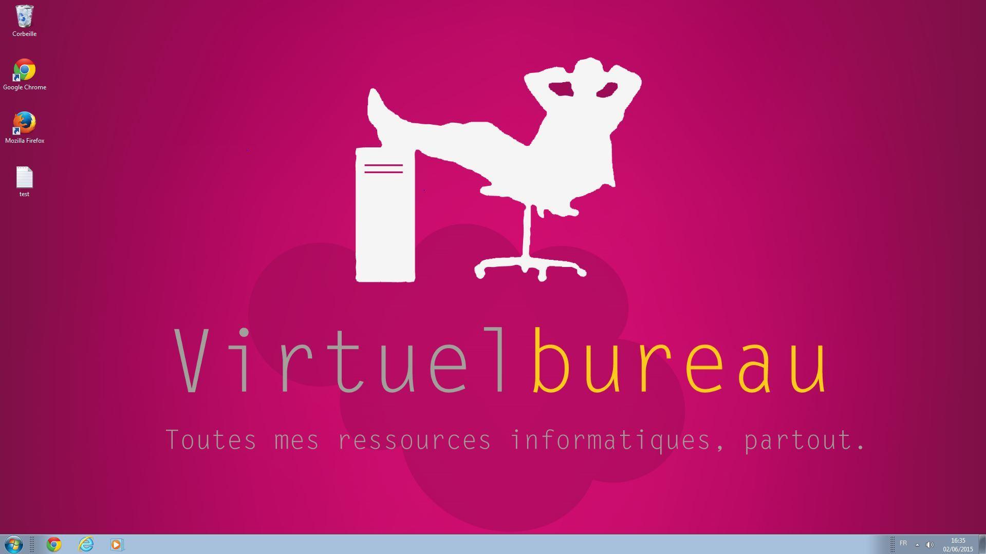 Virtuel Bureau: Contrôle strict des accès aux serveurs, Réversibilité totale des données, Double-authentification