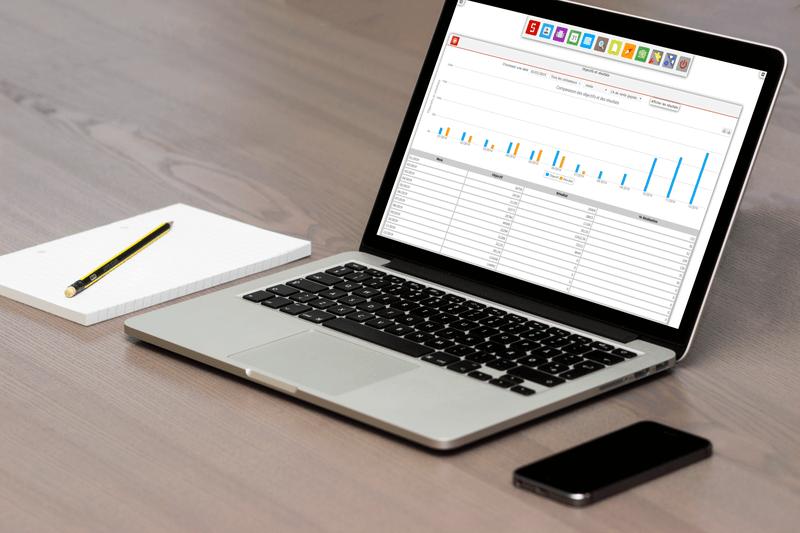 Définissez des objectifs financiers clairs et suivez vos résultats.