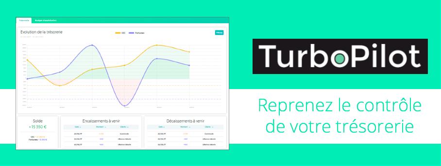 Avis TurboPilot : Logiciel de gestion et prévision de trésorerie pour TPE/PME - appvizer