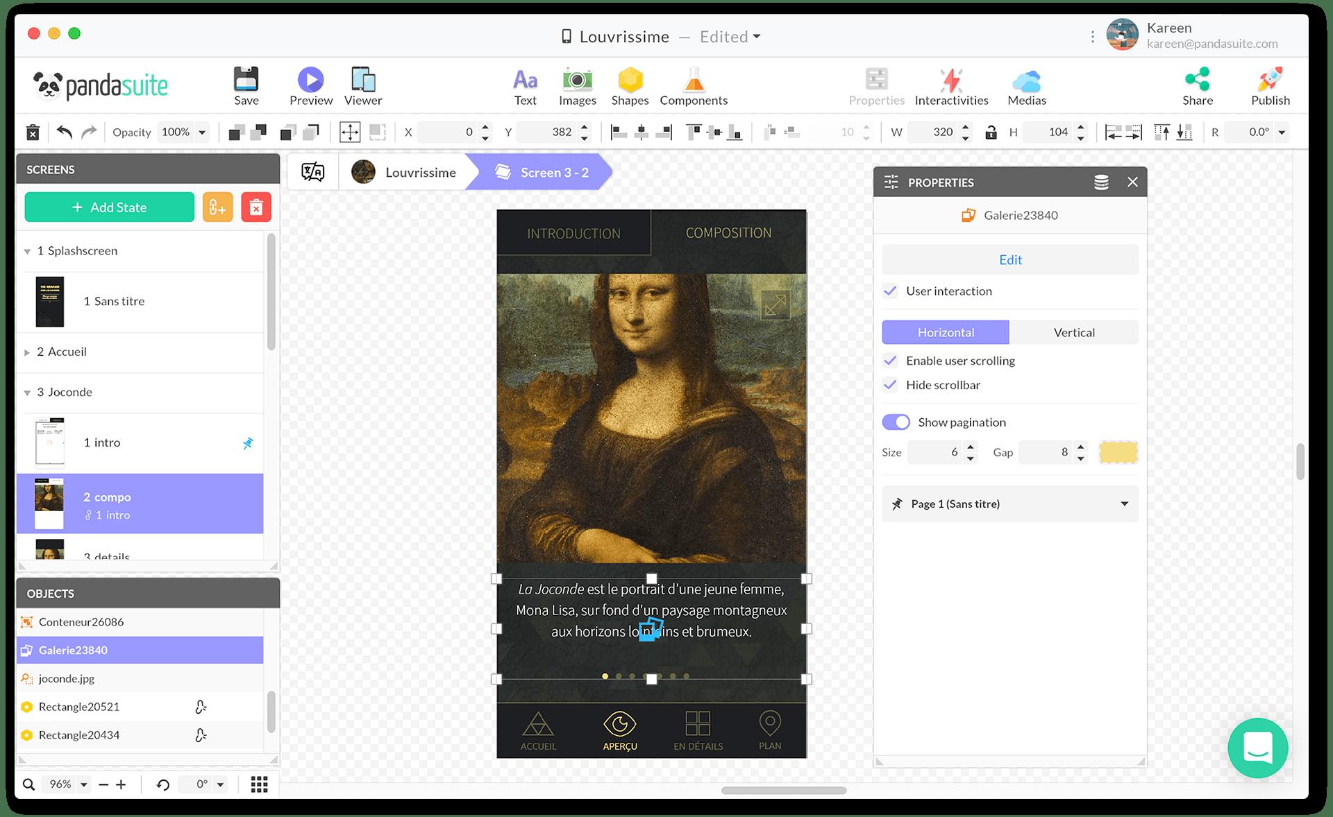 PandaSuite-interactive-design-studio