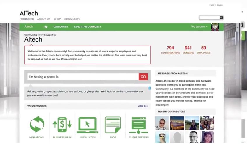 Get Satisfaction: Base de savoir (tutoriels, démos), Communauté de clients (Forum, FAQ), Webmail (gestion des emails)