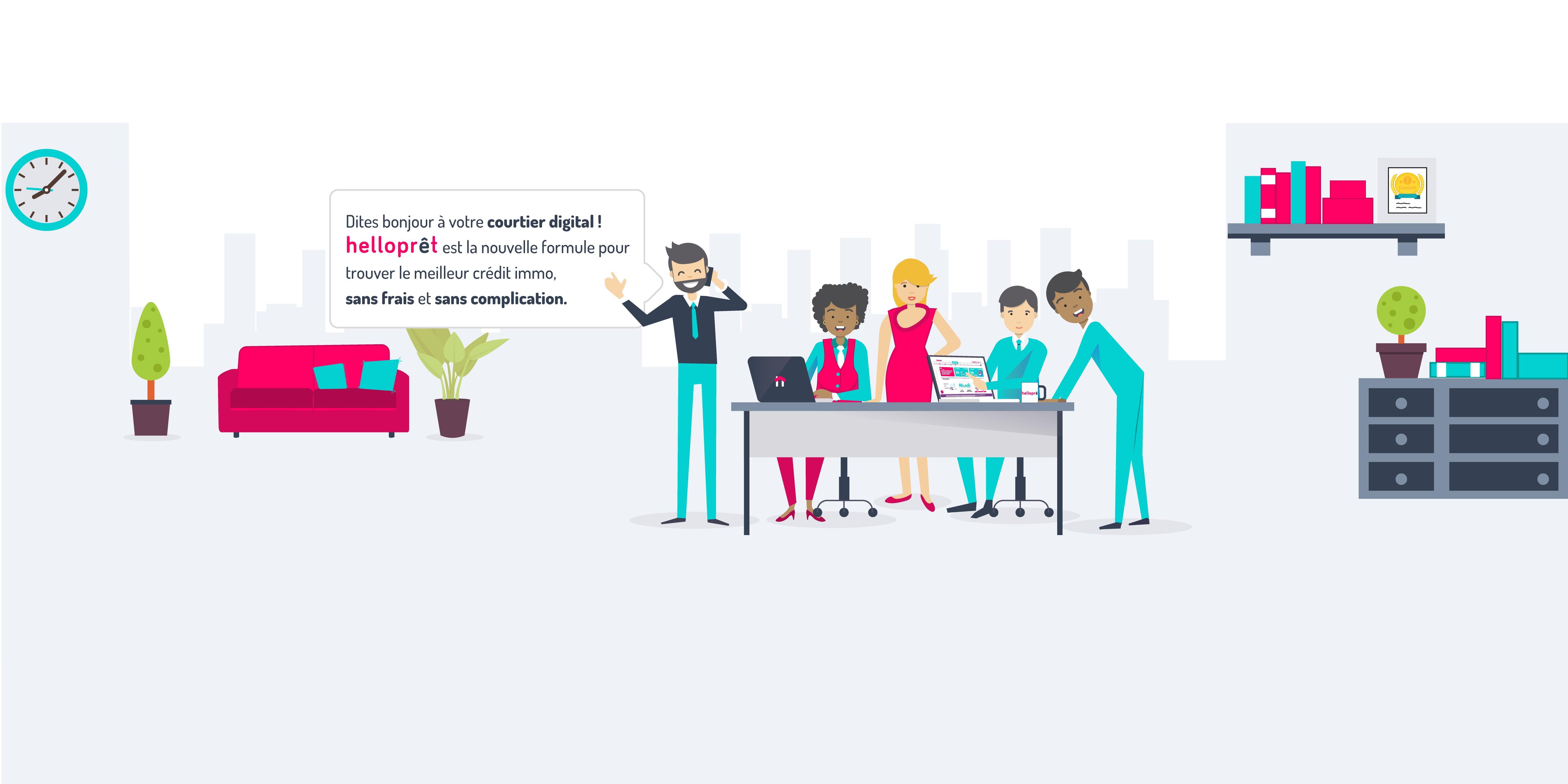 Avis HelloPrêt : courtier en crédit immobilier - appvizer