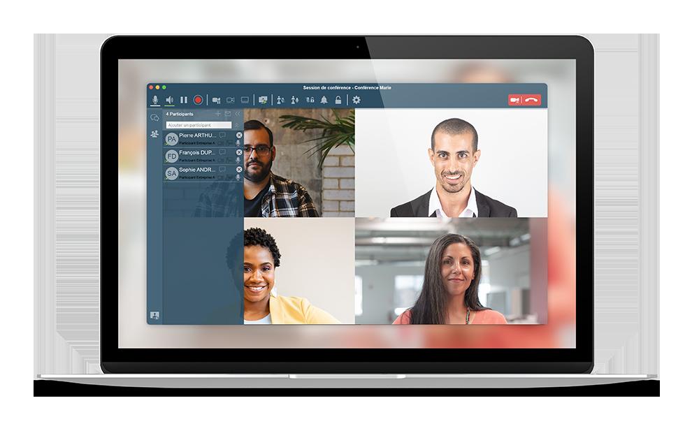 Appel téléphonique visio avec Ubefone