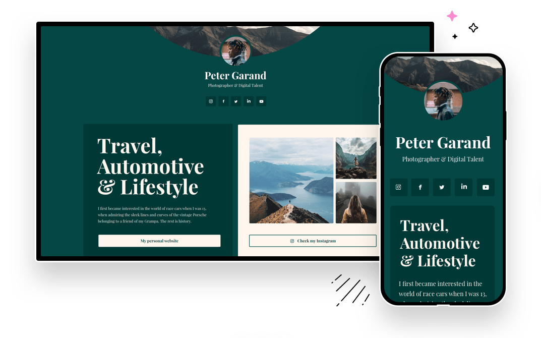 Optimized for all devices, ability to switch view while creating your page