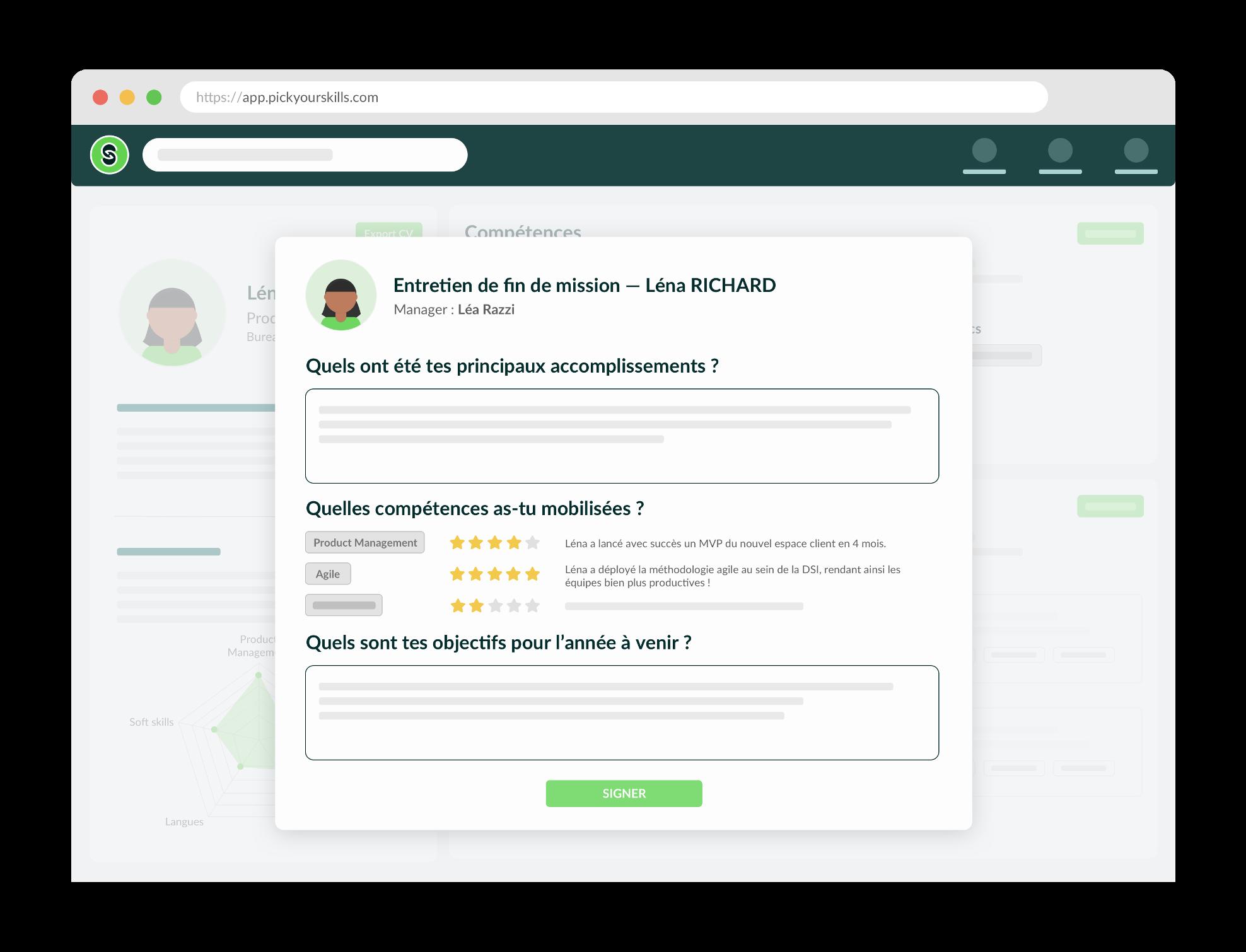Faites progresser vos collaborateurs via des feedbacks digitalisés