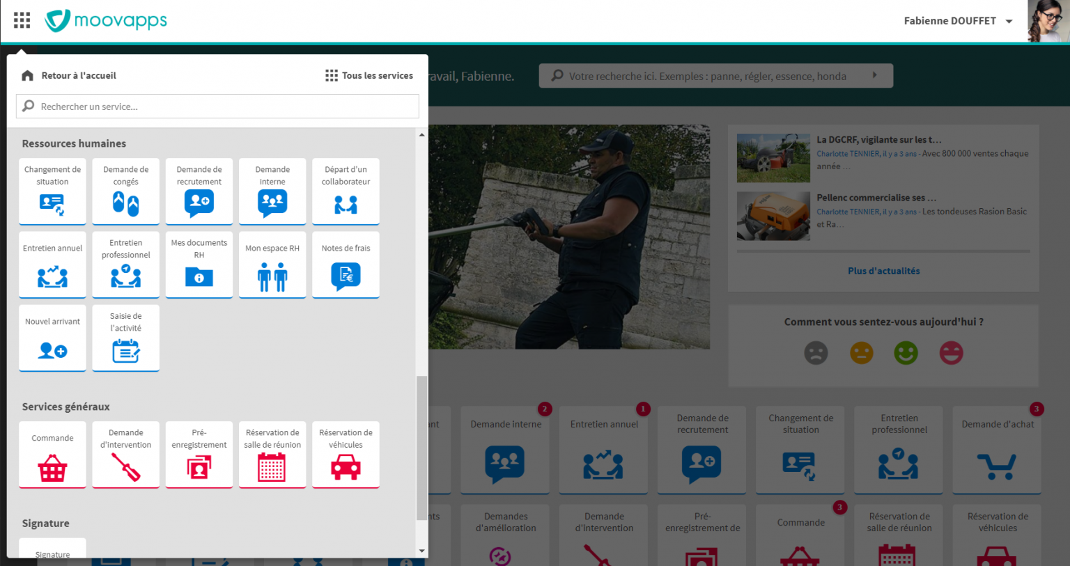 Avis Moovapps Employee Center : Adoptez un intranet collaboratif sur mesure - appvizer