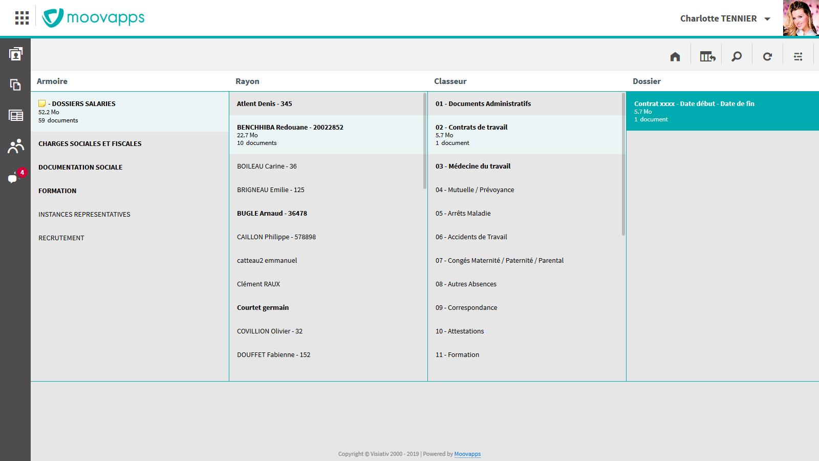 Avis Moovapps Employee Document : Simplifiez et sécurisez vos dossiers RH - Appvizer