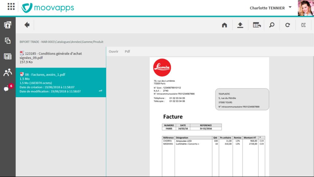 Avis Moovapps Supplier Document : Facilitez le traitement de vos dossiers fournisseurs - appvizer