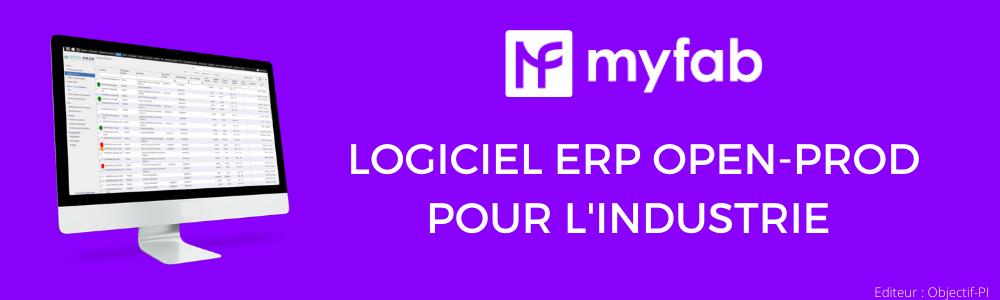 Avis MyFab : Logiciel ERP ouvert et connecté pour l'industrie - appvizer