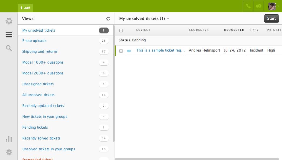 Zendesk: Mappage du nom de domaine, Profil client, Gestion des cas