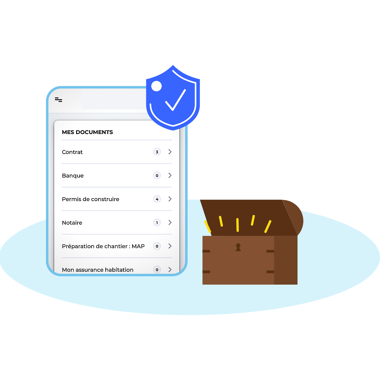 Coffre-fort numérique 100% sécurisé