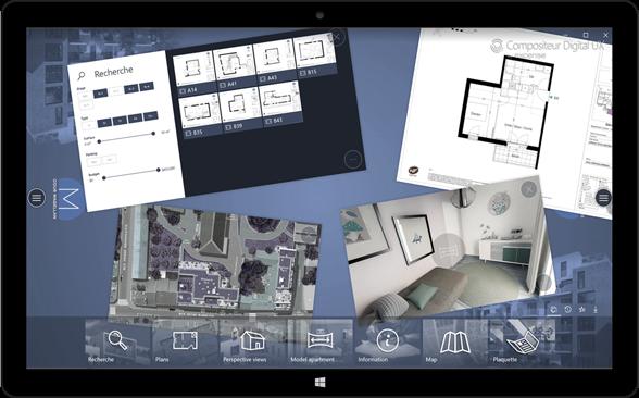 Le Compositeur Digital sur tablette