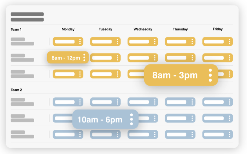 Avis Weecaps : Création et partage de planning en toute simplicité - appvizer