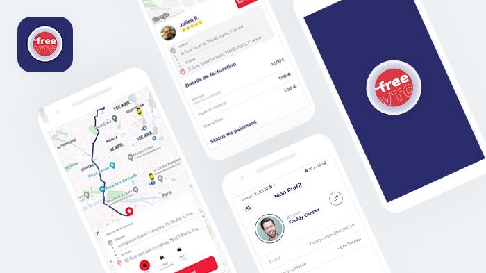 Free VTC - Marketplace mobile B2C