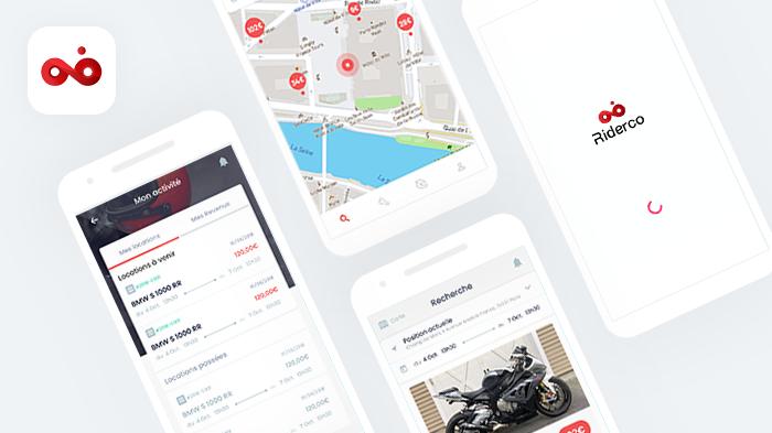 Riderco - Marketplace Mobile C2C / B2C