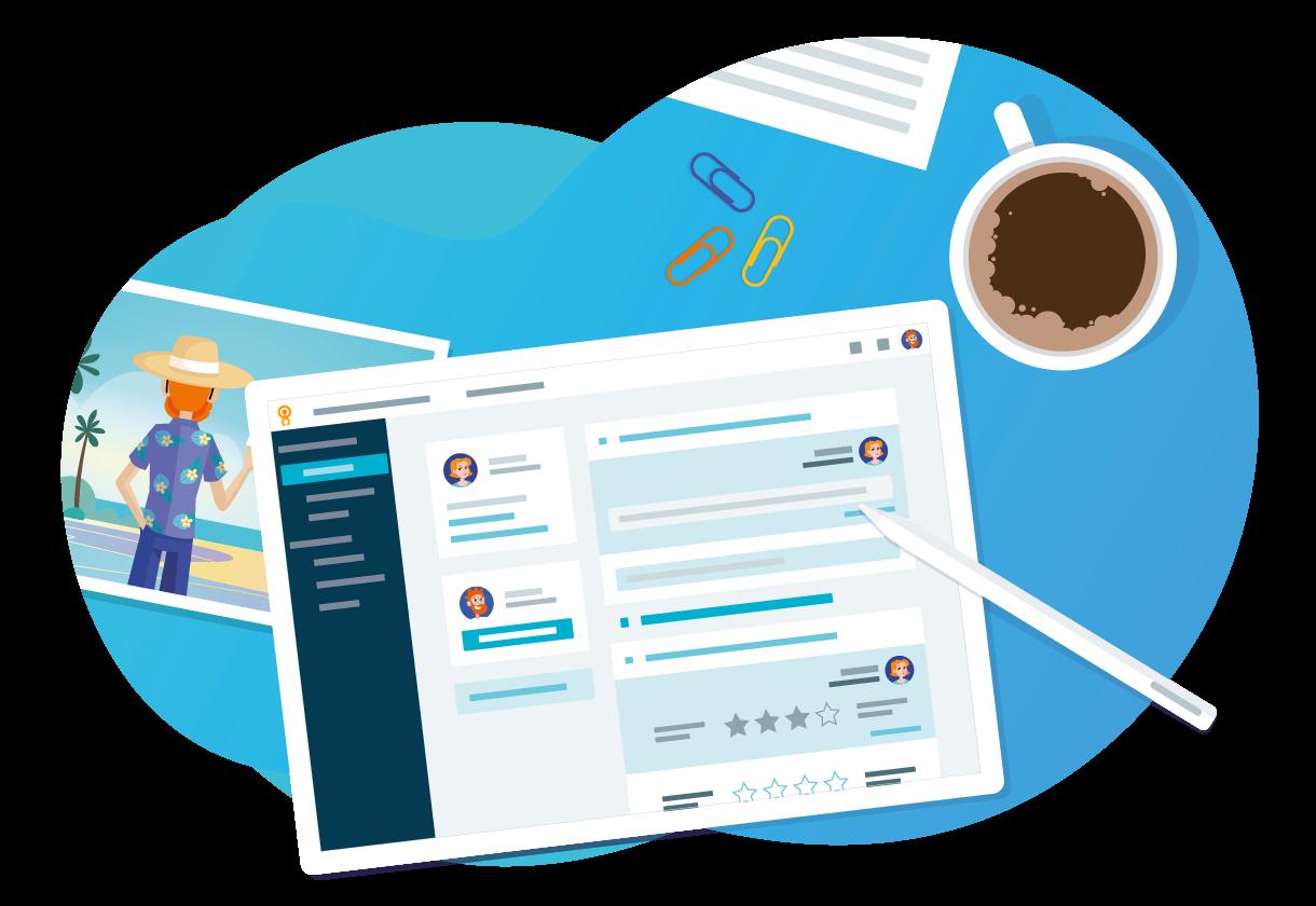 Avis Poplee Entretiens & Objectifs : Gestion des entretiens d'évaluation et suivi des objectifs - appvizer