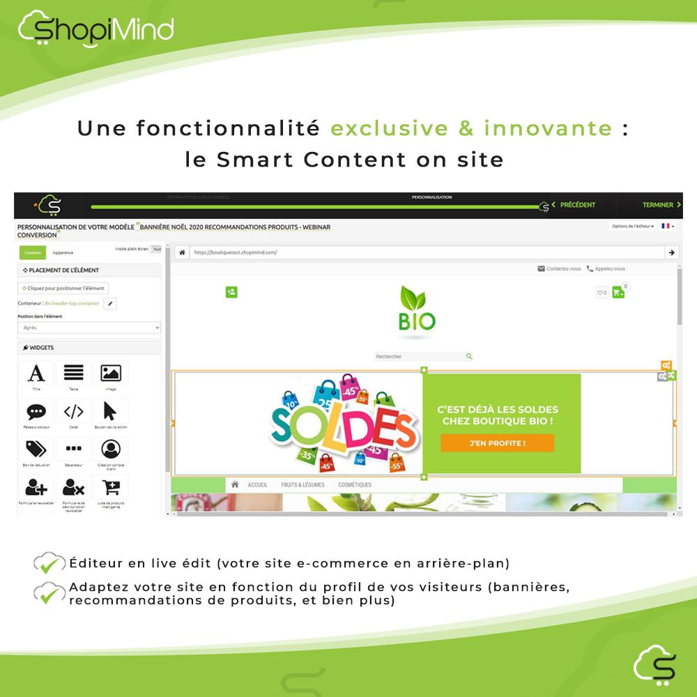 Le Smart Content On Site
