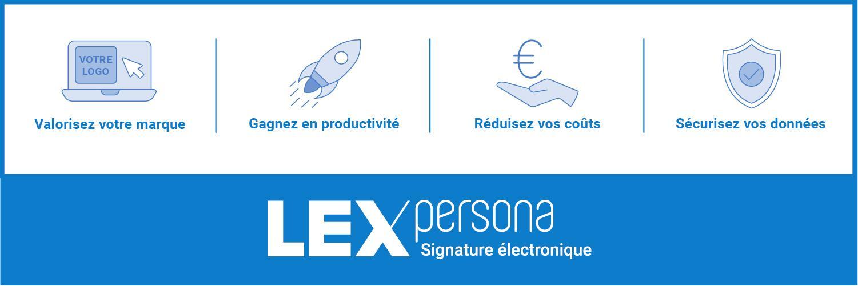 Avis Lex Persona : La signature électronique à l'image de votre entreprise. - appvizer
