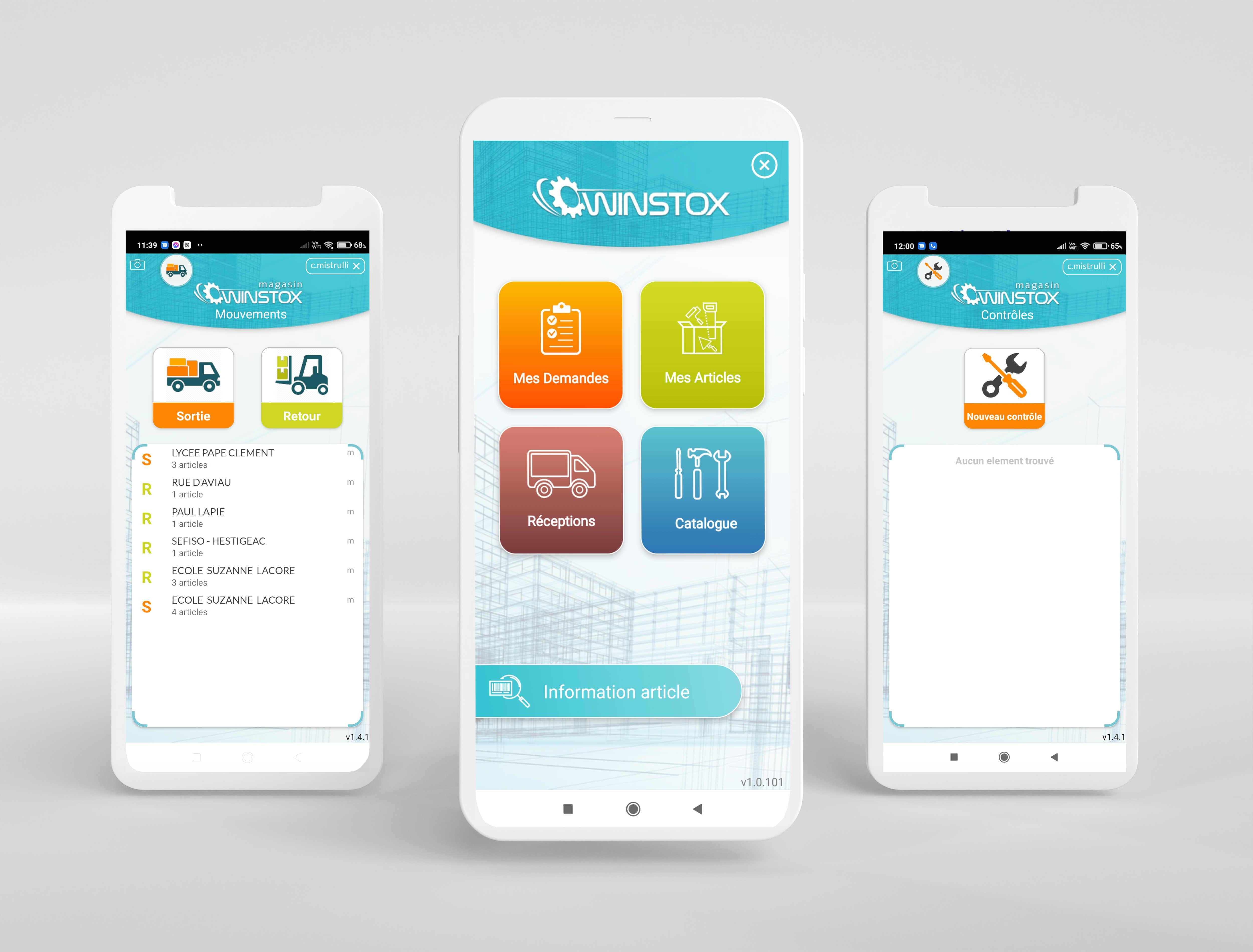 Découvrez les applications Android Winstox dédié aux magasins pour plus de mobilité, une meilleure fiabilité des données et de la rapidité dans le traitement des demandes.