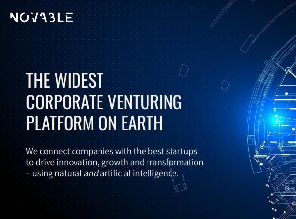 Avis Novable : Platforme de startup et innovation scouting - Appvizer