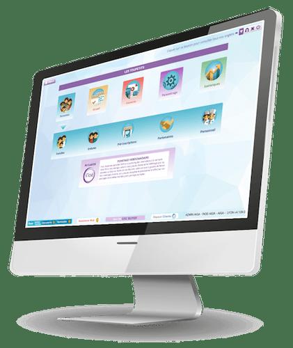 Page d'accueil du logiciel iNoé