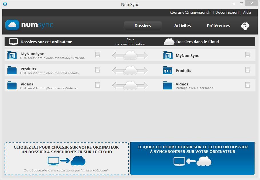 Multi-device, synchronisez vos fichiers de la maison au bureau et avec vos collègues!