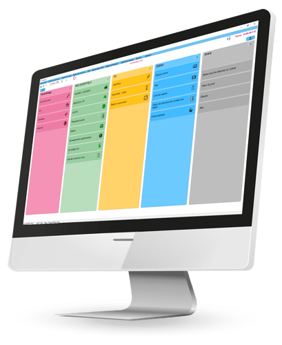 Option panorama du logiciel Cloé