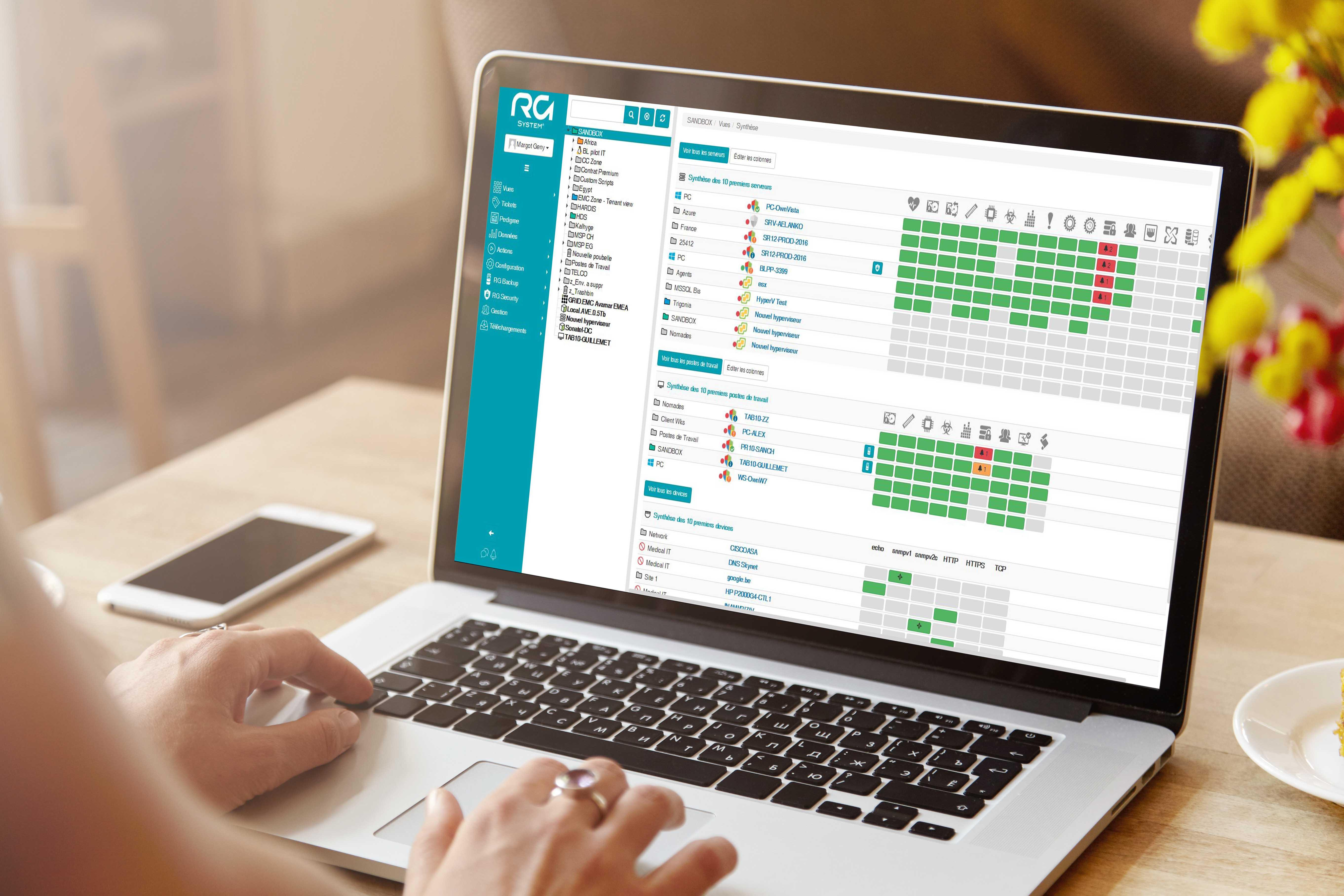 Avis RG System Data Backup&Restore : Logiciel de sauvegarde et restauration de données - Appvizer