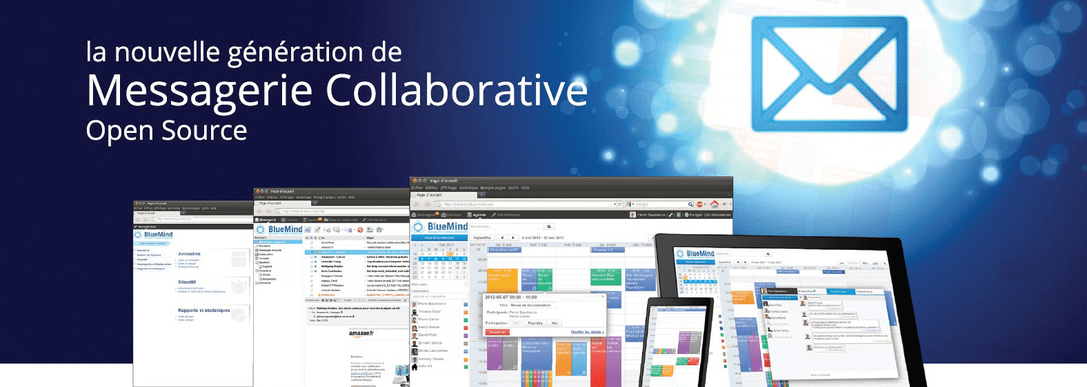 BlueMind : Messagerie collaborative open source - Fonctionnalités & Avis