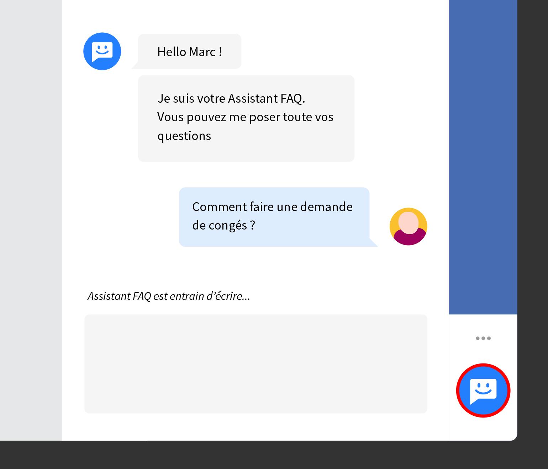 Chatbot FAQ : un Assistant intelligent pour gérer toutes les demandes pratiques de vos collaborateurs