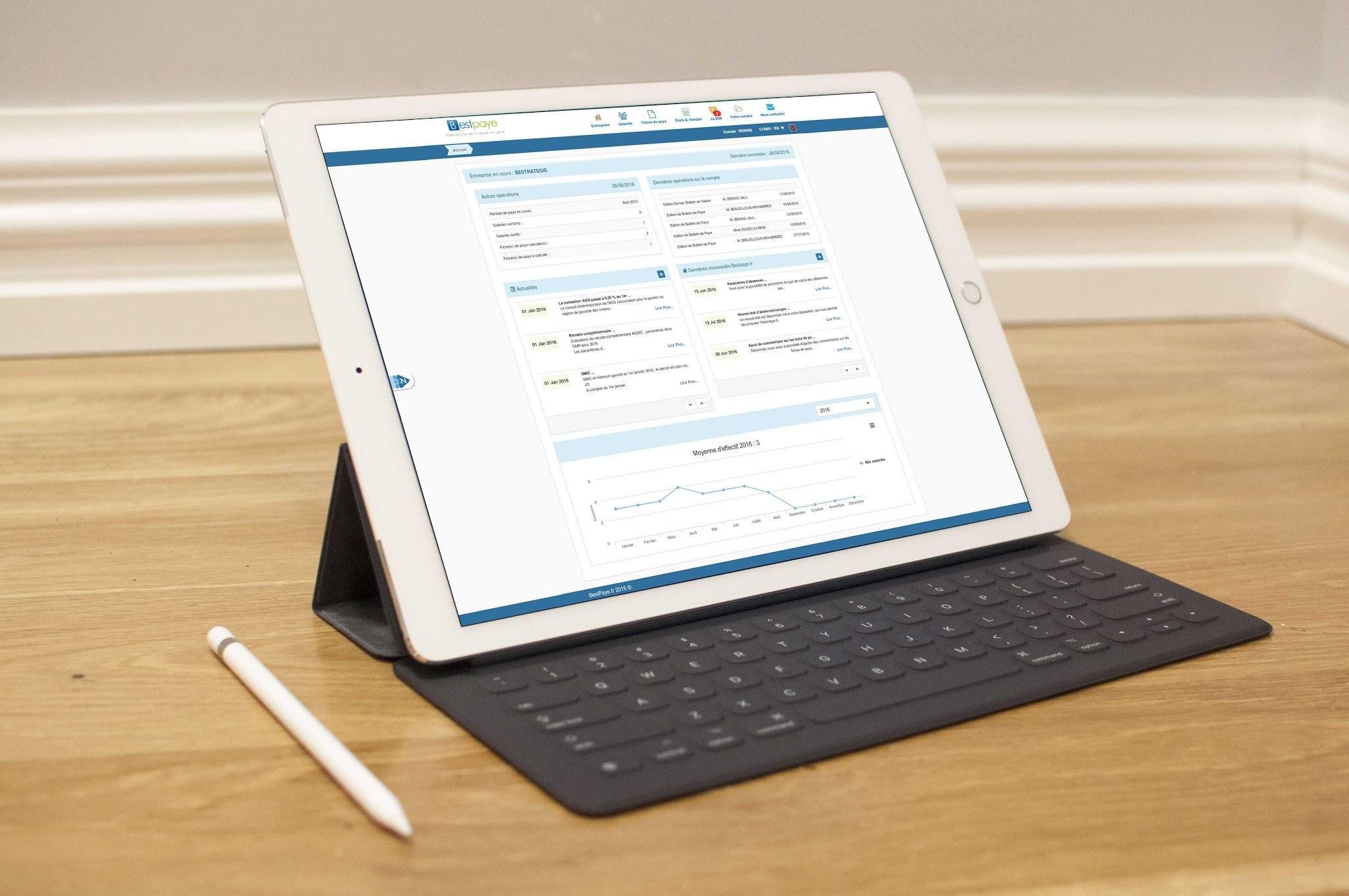 Compatible sur les tablettes