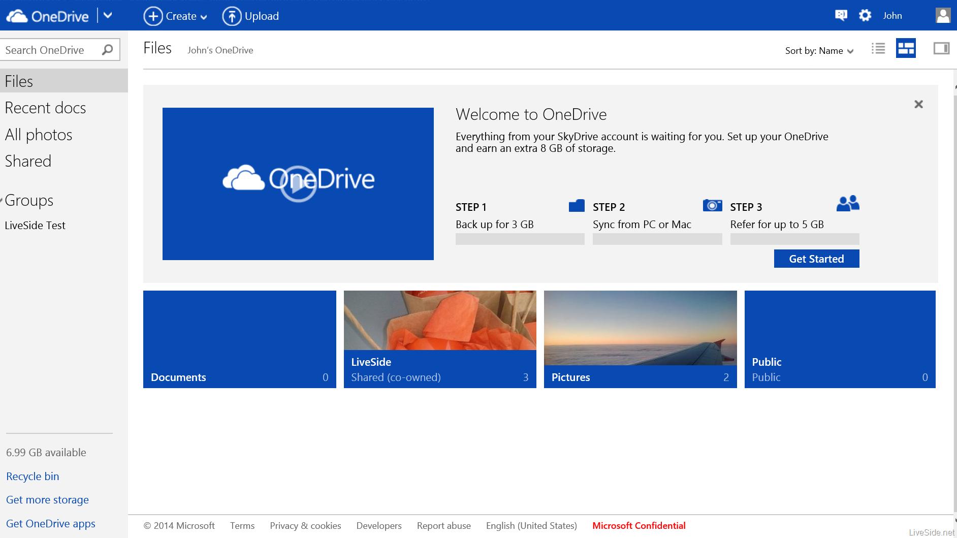 OneDrive: Contrat de niveau de service (SLA), Sauvegarde Automatique, Sauvegarde vers un NAS