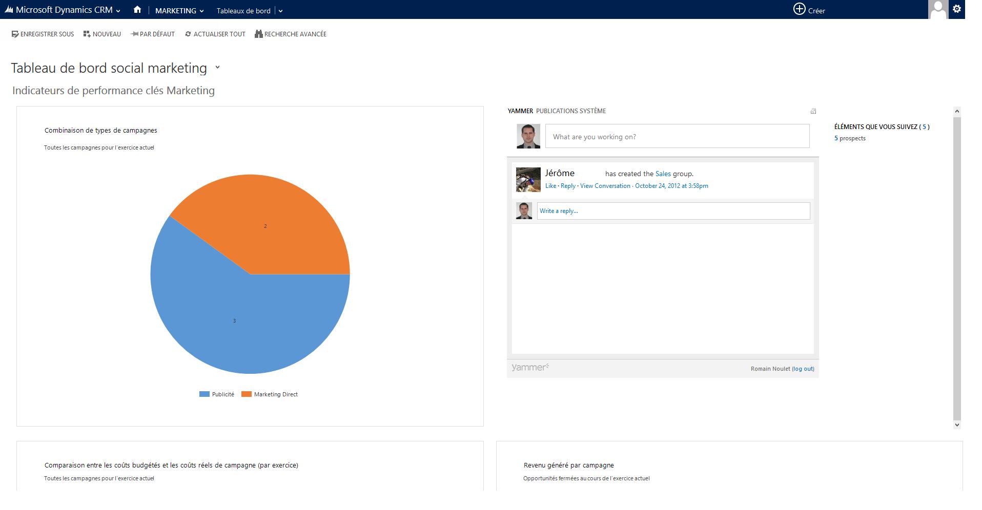 Microsoft Dynamics CRM: Type de contact, Assurance contre les pertes de données, Libellés