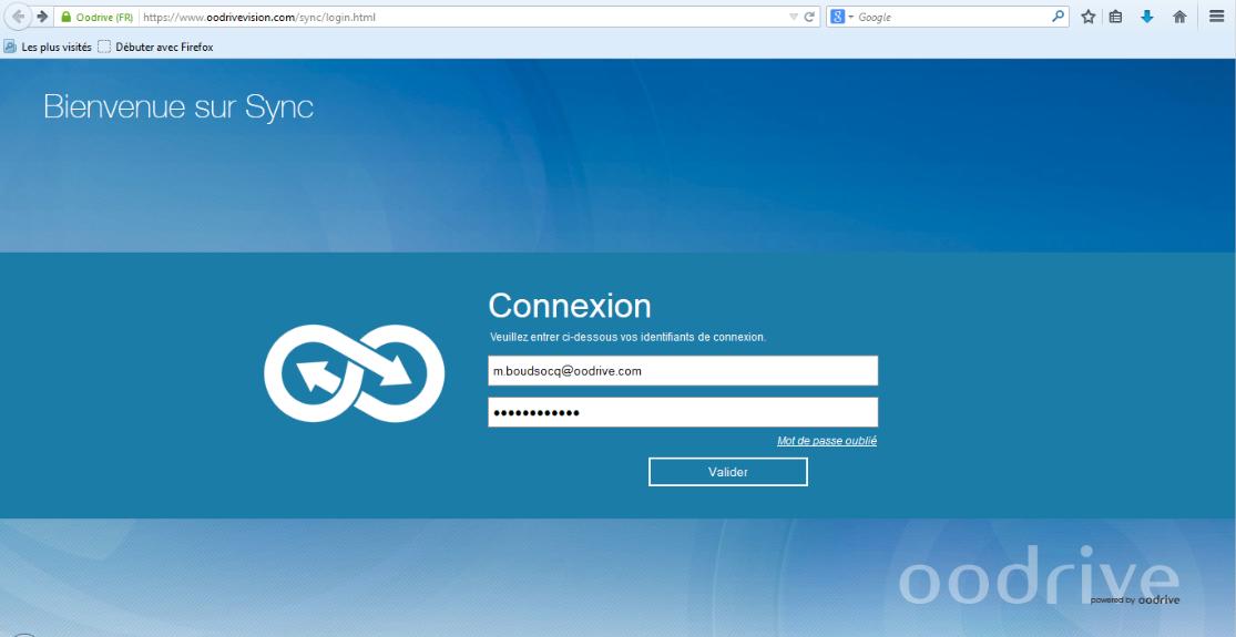 Oodrive Sync: Librairie de documents, Gestion des utilisateurs, Communauté (FAQ, Forum)