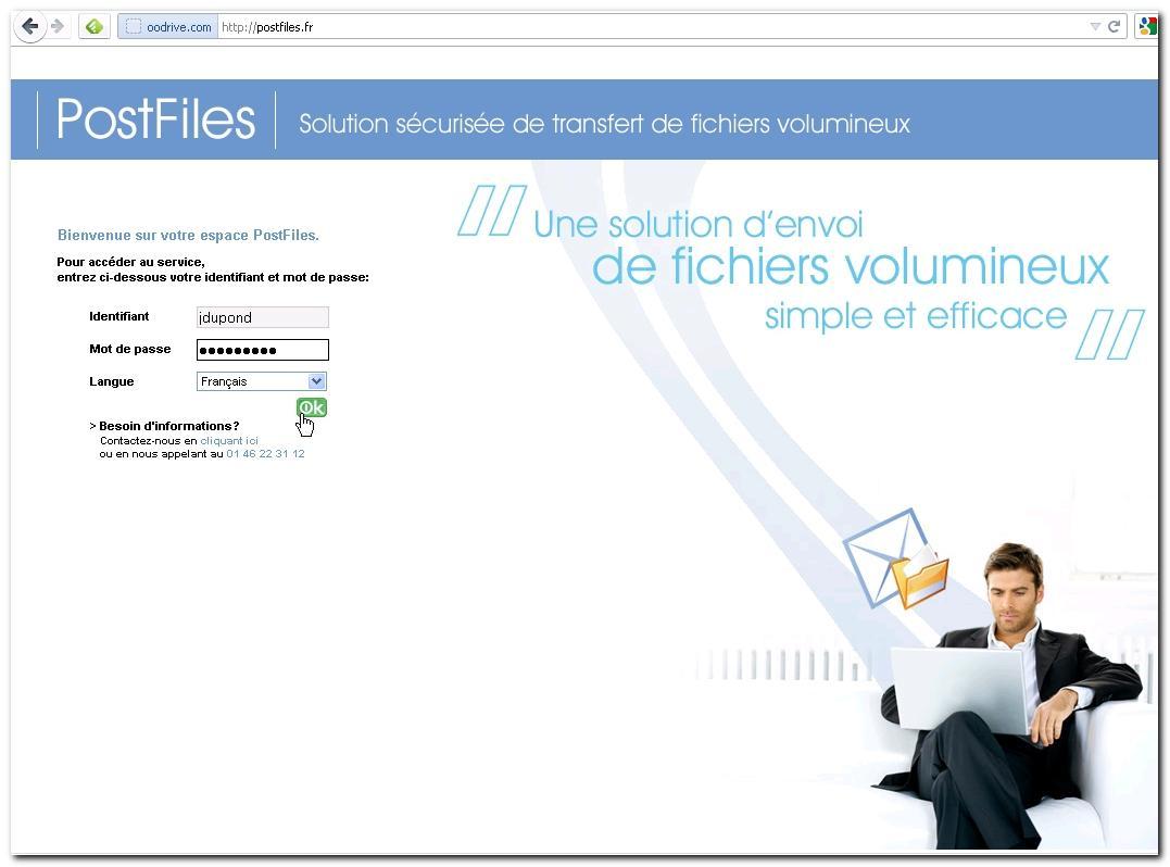 PostFiles: Contrôle strict des accès aux serveurs, Sauvegarde quotidienne, Formation sur site