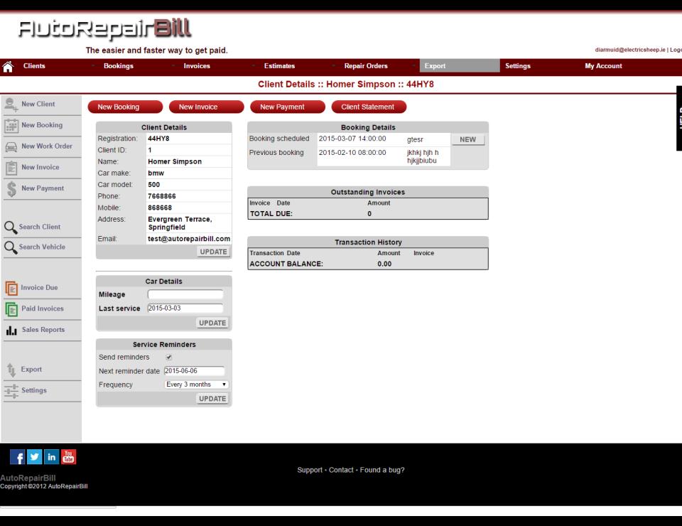 Auto Repair Bill-screenshot-1