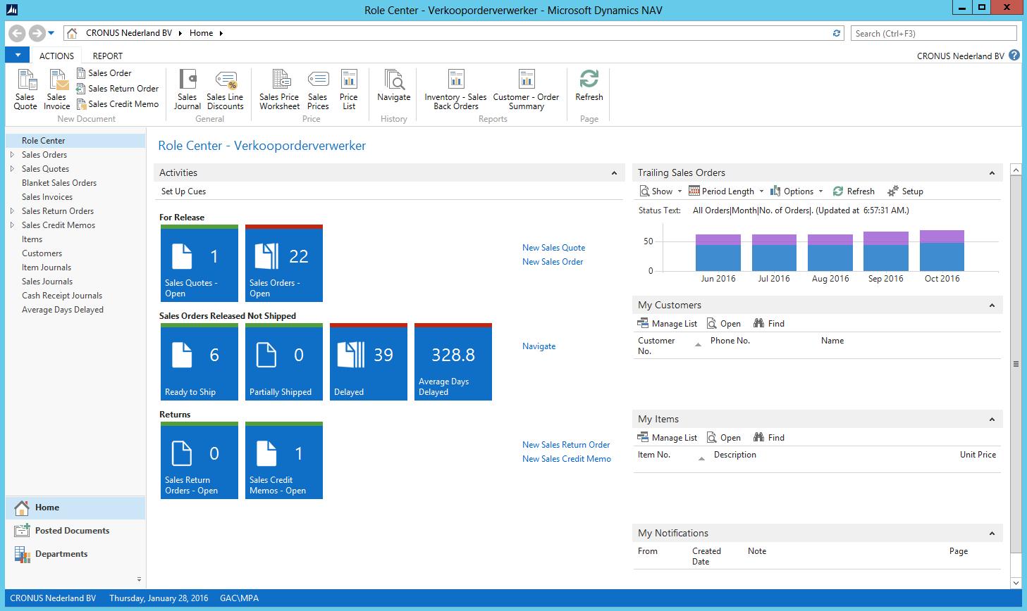 Microsoft Dynamics Nav Navision Progiciel Erp Pour