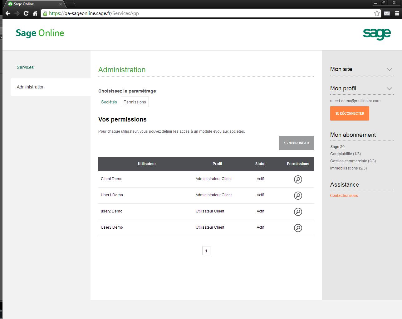 Sage Gestion Commerciale Online: Historique des mouvements, Suivi des achats, Application mobile