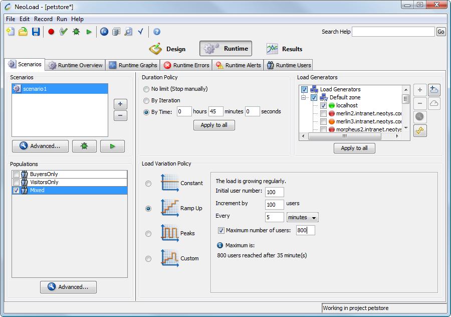 NeoLoad: Formation en ligne (webinaire), Compatible Window OS, API, Web service