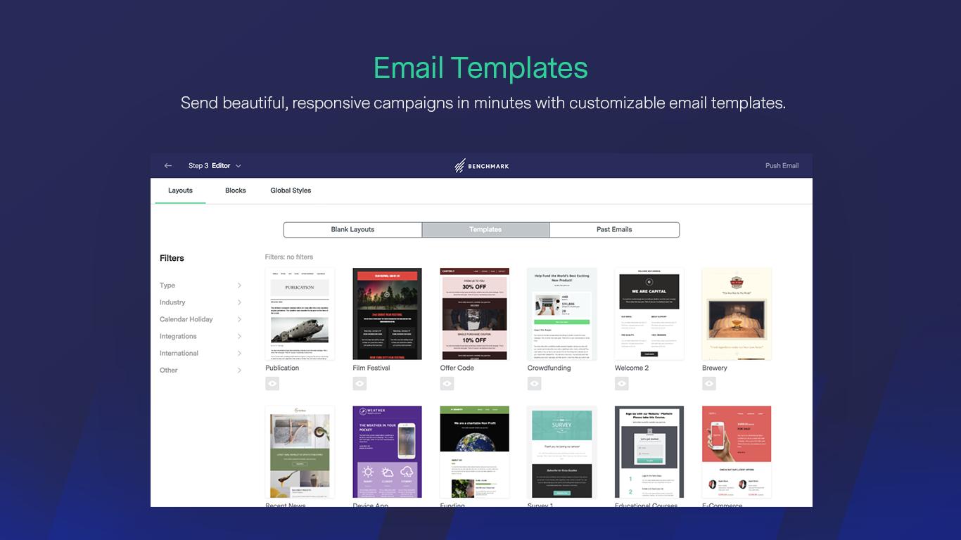 Benchmark Email - Envoyez de magnifiques emails
