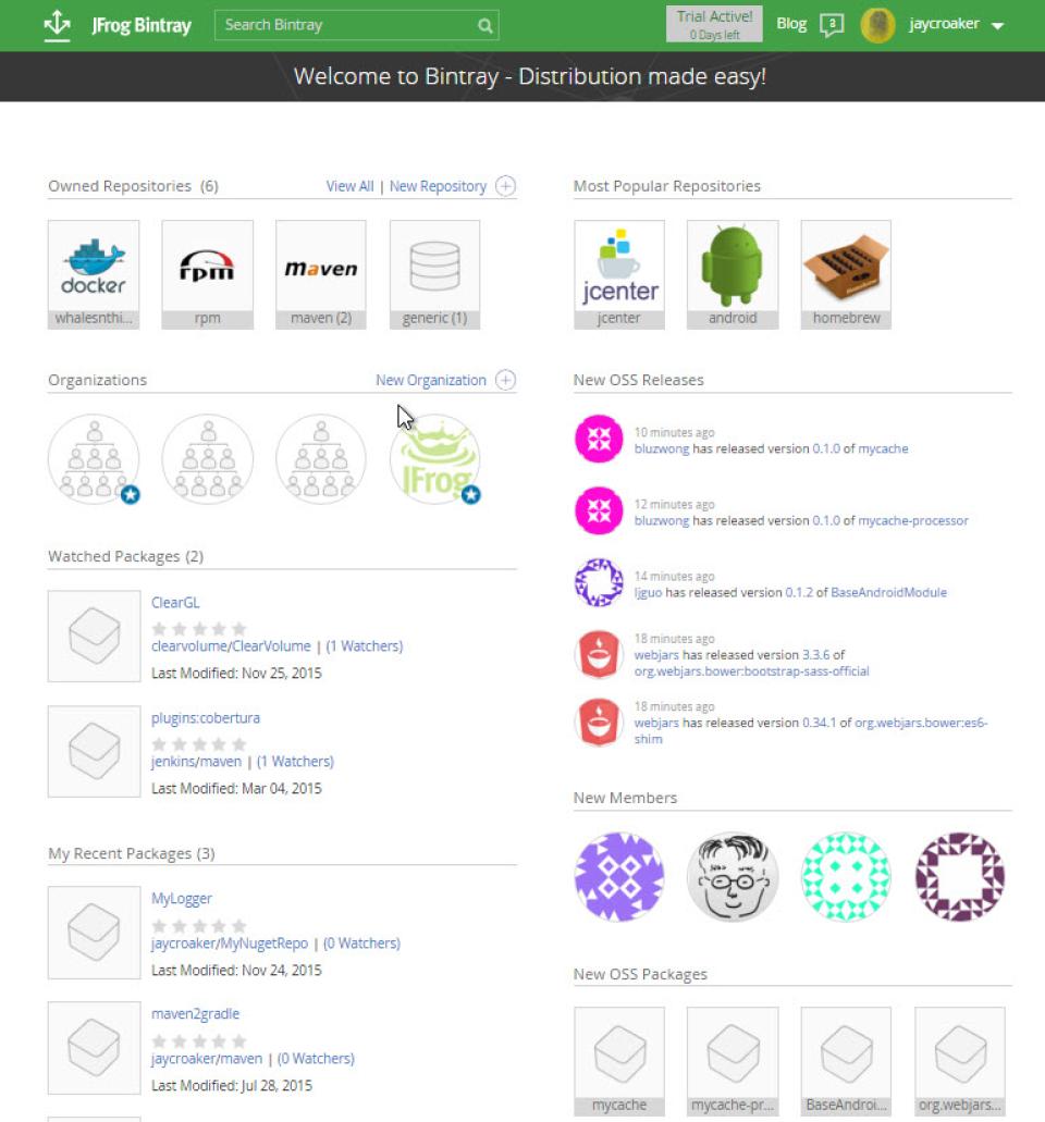 Bintray-screenshot-1