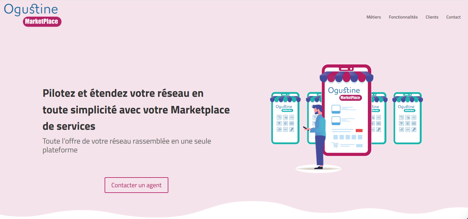 Avis Ogustine Marketplace : La marketplace spécialisée pour les services à la personne - appvizer