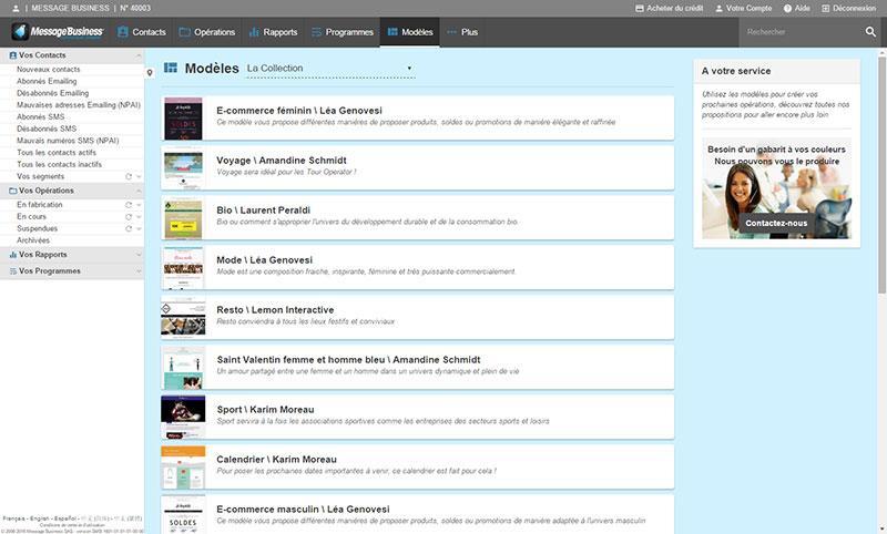 Message Business: Secure Sockets Layer (SSL), API, Web service, Création d'Emailings à partir de Flux RSS