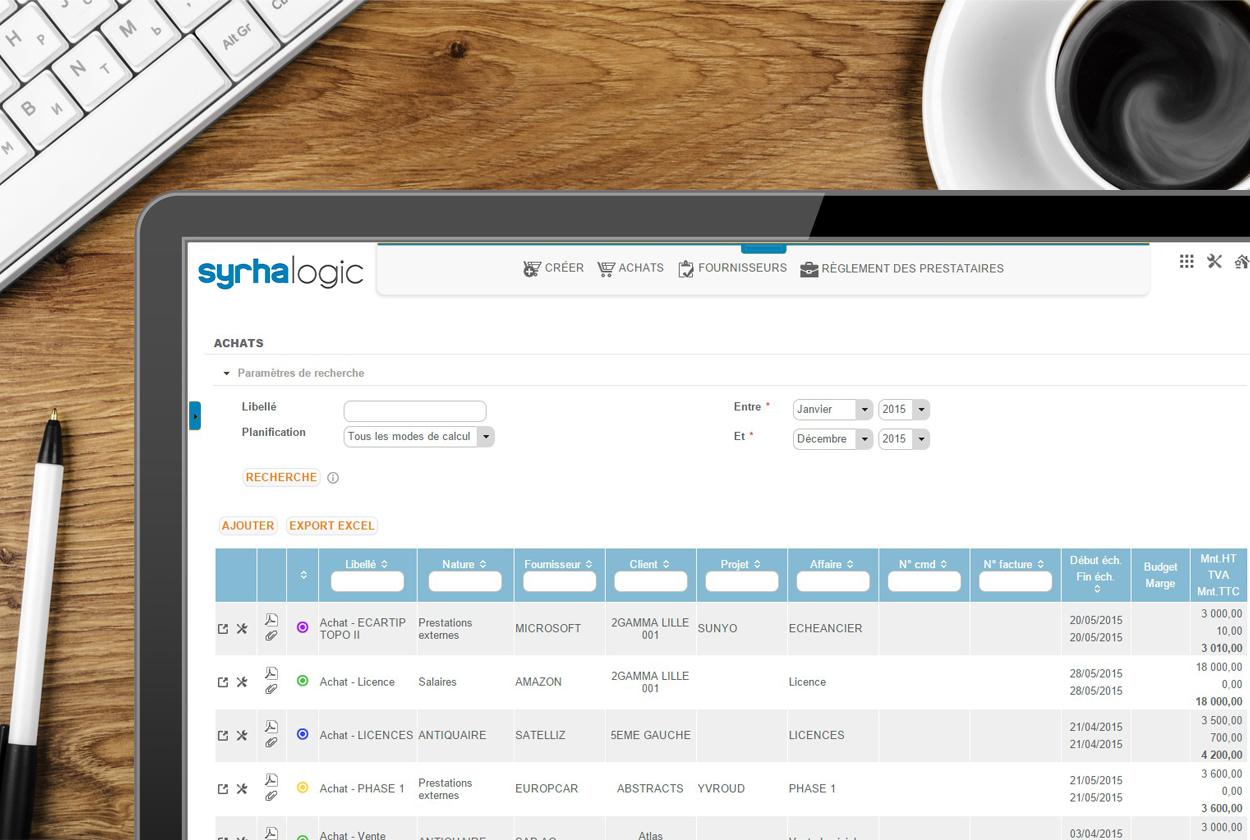 Avis Syrhalogic : La solution SIRH pour gérer vos ressources dans le Cloud - appvizer