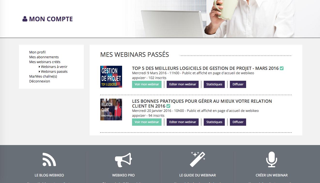 Webikeo: Téléphone fixe, Documents partagés, Formation sur site