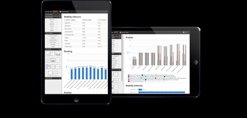 D-Sight CDM: Tableaux de bord et rapports partagés, Application mobile, Import/export de données
