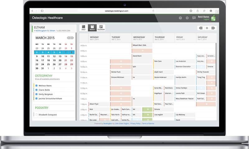 BookingRun-screenshot-0
