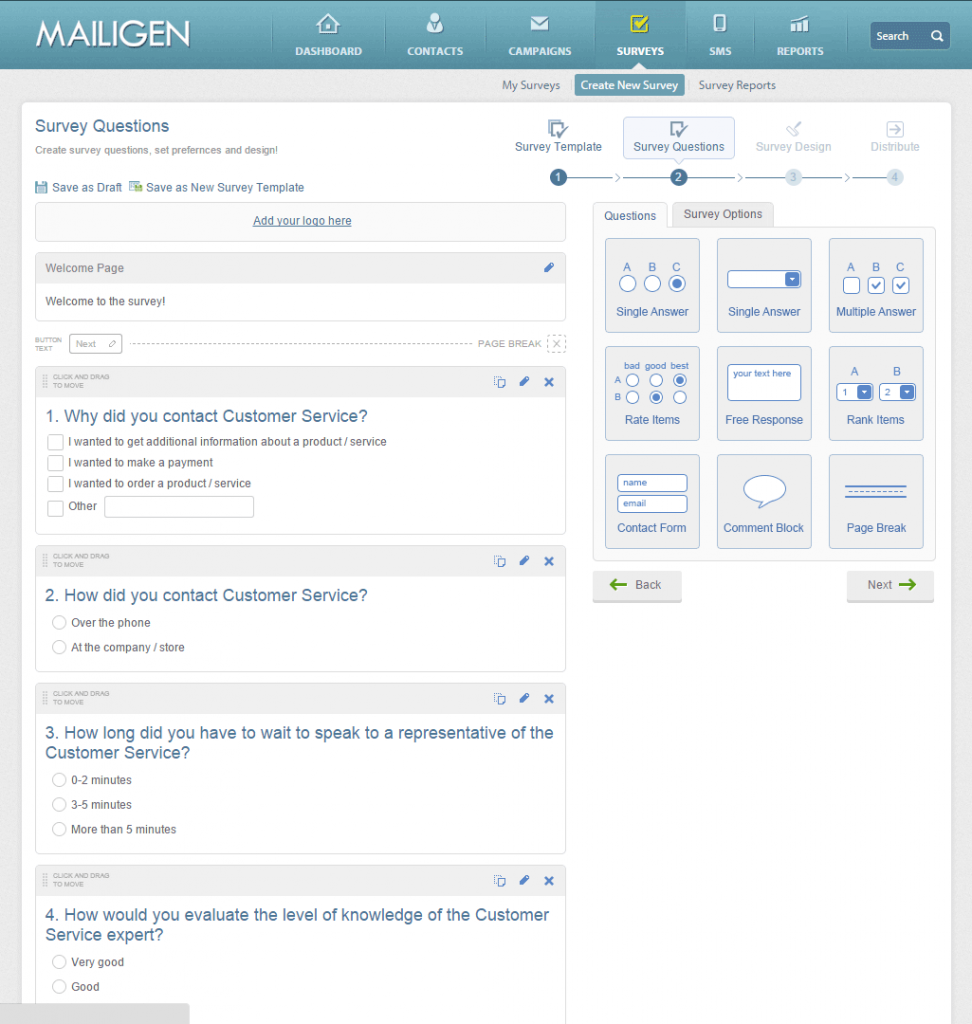 Mailigen: Rapports post-campagne, RSS-to-email, Mailing de masse