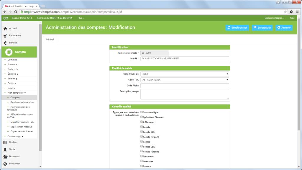 Compta.com: Factures personnalisées, Factures consolidées, Support (téléphone, email, ticket)