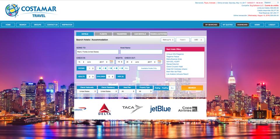 BugHotel Reservation System-screenshot-0